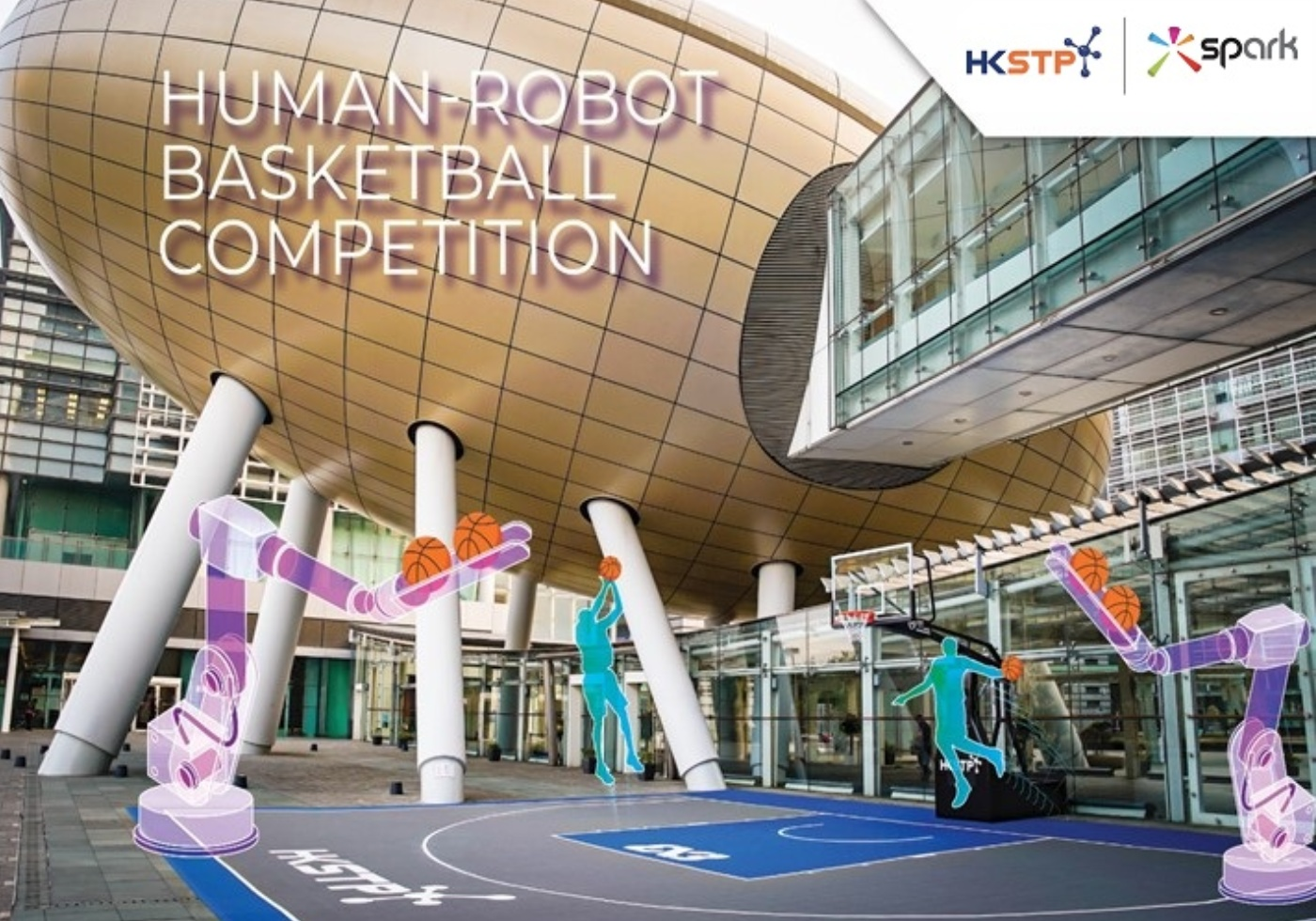 HKSTP Human-Robot Basketball Competition