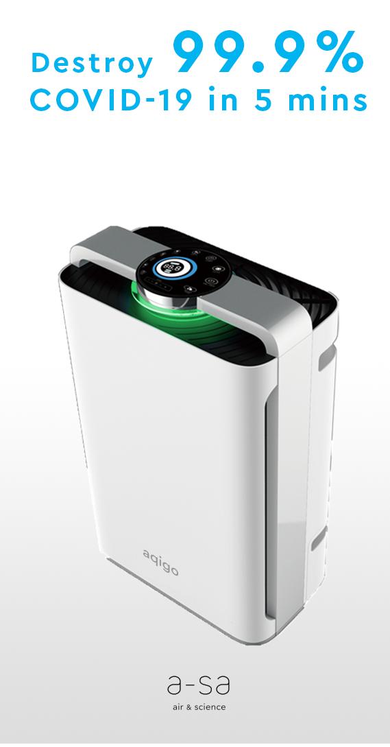 Enjoy 40% off on AQIGO Air Purifier