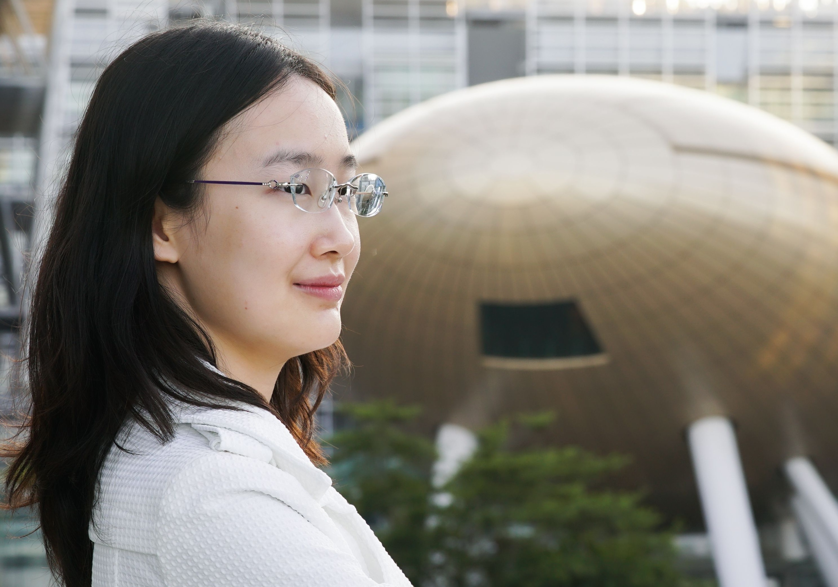 """""""Haoqi (curiosity) is my name. We live in an era of Information Technology. We are always in touch with data and AI, and so I'm keen on this."""""""